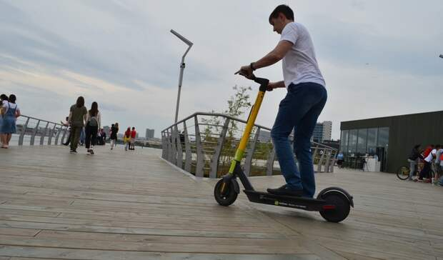 В Татарстане хотят снизить скорость самокатов до 10 км\ч