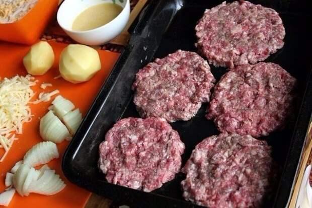 Стожки - блюдо из мясного фарша