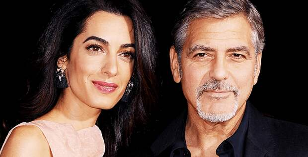 Амаль Клуни избегает Джорджа Клуни?