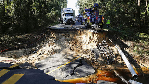 Последствия урагана «Мэттью»