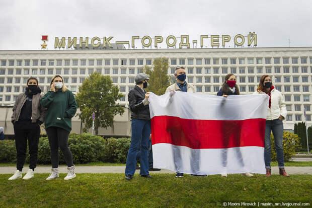 Беларусь, протесты 25 октября.