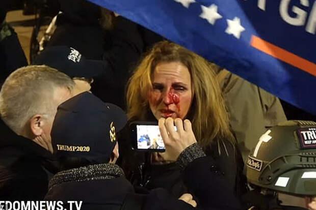 18-летняя американка сдала своих родителей, которые участвовали в штурме Капитолия