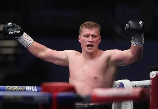 Поветкин отправил в нокаут британского боксера Уайта