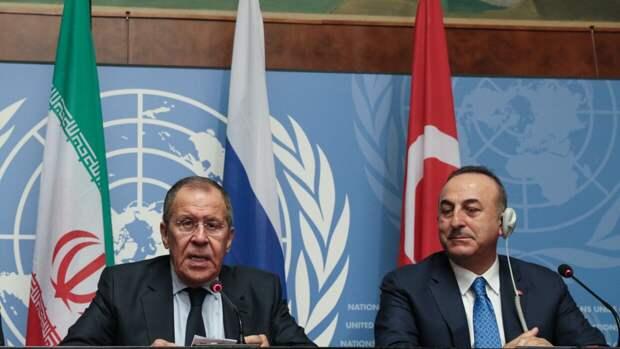 Главы МИД РФ и Турции обсудили обострение палестино-израильских отношений