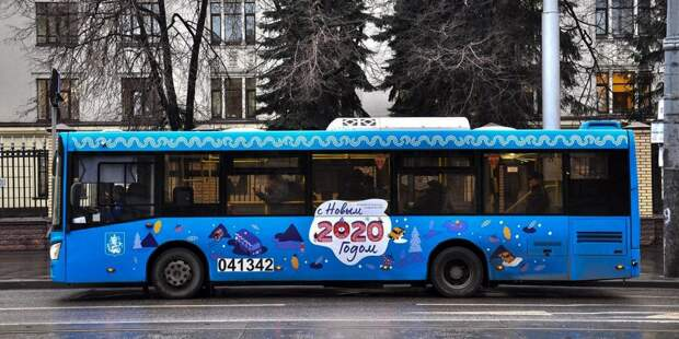 Столичный транспорт перевёз в новогоднюю ночь более 750 тысяч пассажиров. Фото: mos.ru