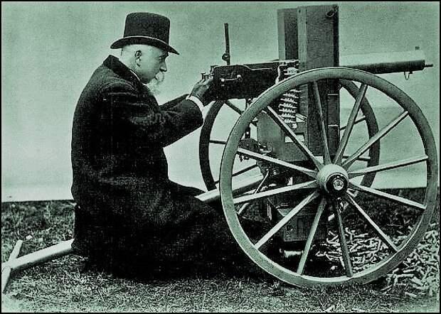 Рождение пулемёта. Хайрем Максим, история, оружие