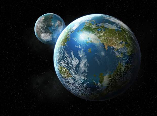 Планета Глория – таинственная сестра Земли.