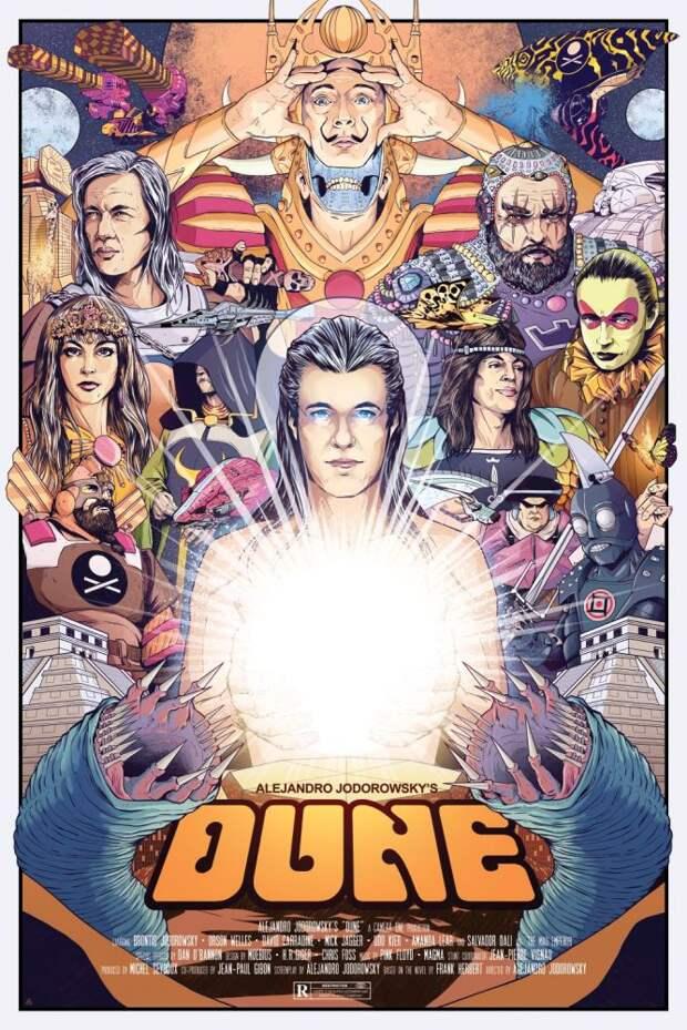 Первой экранизации «Дюны» не дали выйти в свет. В ней снимался Сальвадор Дали, а за музыку отвечали Pink Floyd