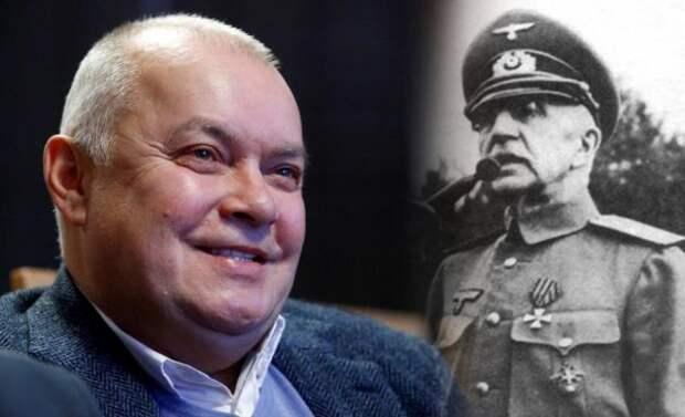 Киселев объяснил свою идею поставить памятник пособнику нацистов Краснову