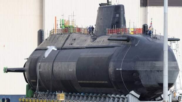 Британский флот пополнился новой атомной субмариной