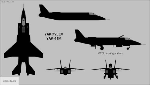 Sohu: новый Як-141 поможет России поставить на колени флот США