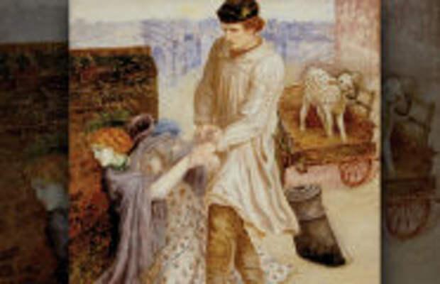 Живопись: Какую драму изобразил Россетти на картине «Найденная», и Причём здесь теленок