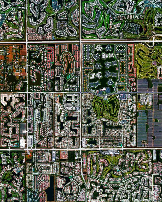 9. Бока Район, Флорида фото со спутника, фотограф Бенджамин Грант, фотографии