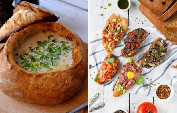 5 прекрасных блюд из хлеба, которые сможет приготовить даже ребенок