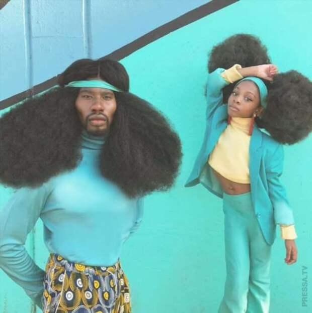 Люди с невероятными волосами