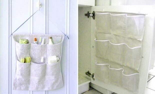 Как сшить органайзер для ванной