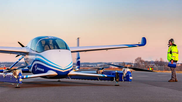Аэротакси Boeing совершило первый полет