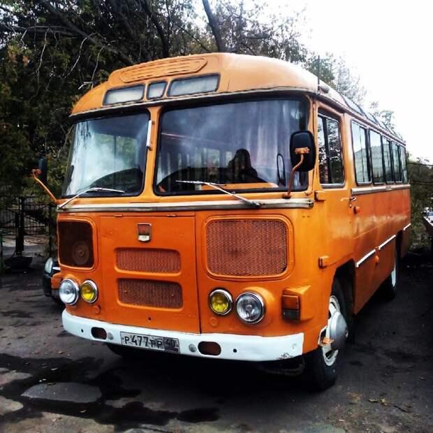 Ностальгические автобусы из нашего детства