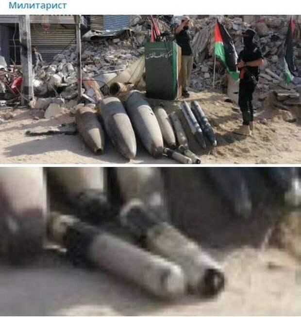 В Израиле заявили об использовании палестинской стороной ракет «Бадр-3»