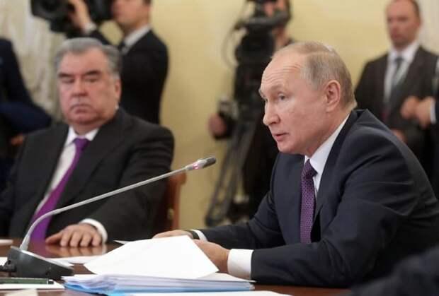 Президенты России иТаджикистана встретятся вМоскве
