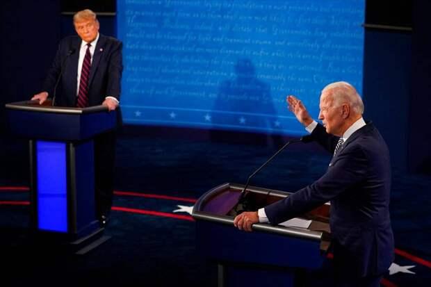 «Заткнись, чувак»: итоги первых дебатов Трампа и Байдена