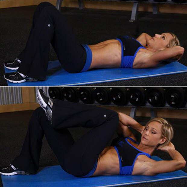 упражнение для талии скручивание3
