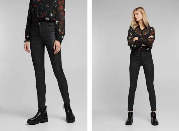 Кожаные брюки – образы для настоящих модниц