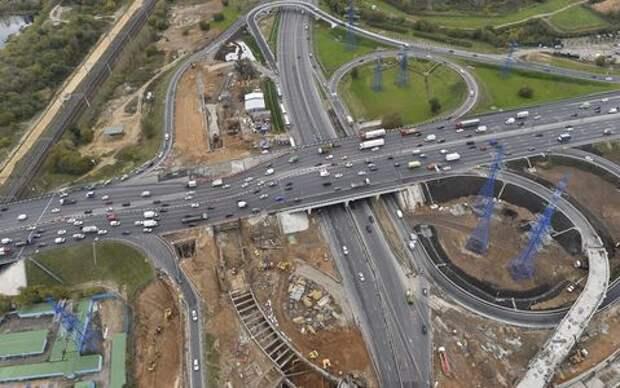 Реконструкция развязок МКАД обойдется еще в 90 миллиардов!