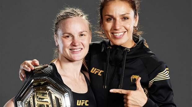 Сестра чемпионки UFC Шевченко проиграла сабмишном американке Ли на турнире UFC 262