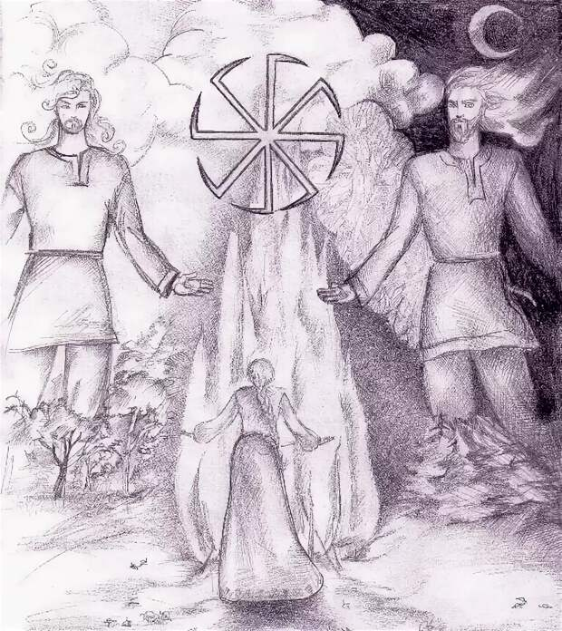 Лики славянских богов. Чернобог