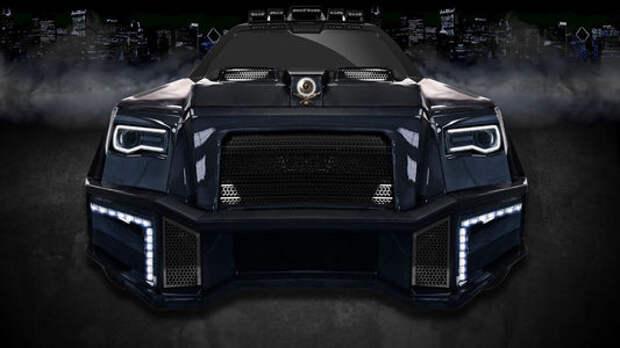 Черный аллигатор: не пугайтесь, это Mercedes-AMG