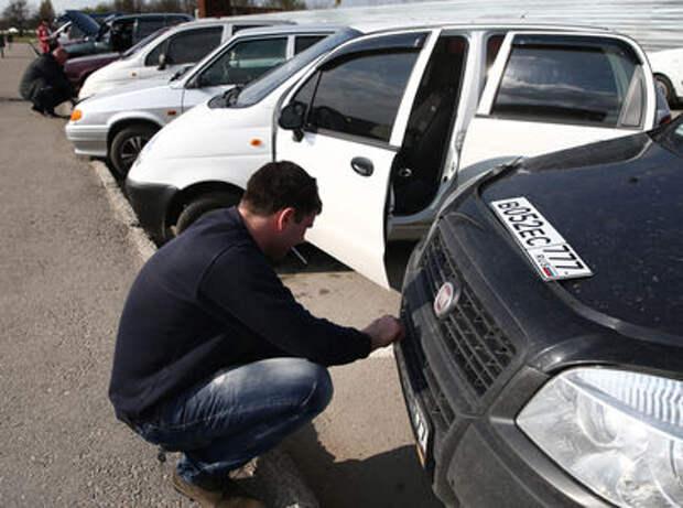 ГИБДД готовит реформу автомобильных и мотоциклетных номеров