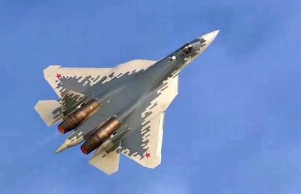 Российский истребитель пятого поколения Су-57 может получить двухместную версию