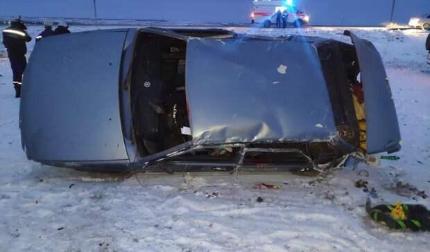 Пассажирка легковушки погибла вРостовской области после ДТП
