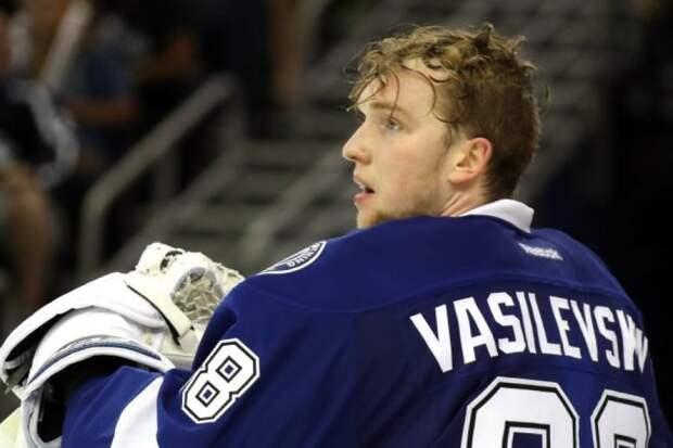 Василевский признан лучшим вратарём сезона в НХЛ по версии хоккеистов