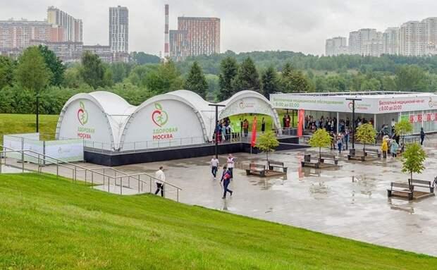 В павильоне «Здоровая Москва» в Митине внедрят электронные медкарты