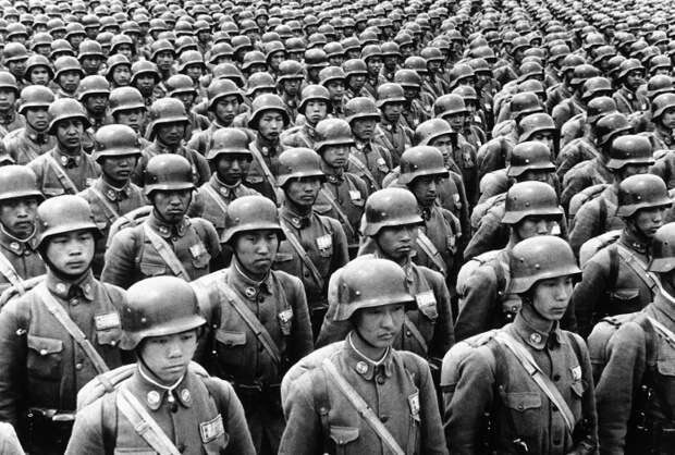 Япония во Второй мировой войне. | Фото: Пикабу.