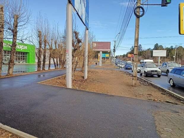 Движение транспорта затруднено в центре Читы
