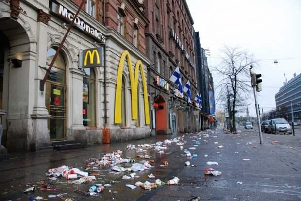 Экономика Финляндии сдувается