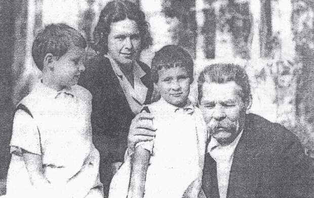 Почему невестке Максима Горького не позволили выйти замуж после смерти мужа и свёкра