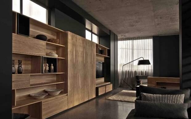 Выбираем мебель из дуба: какой должен быть цвет, стиль и дизайн (60 фото)