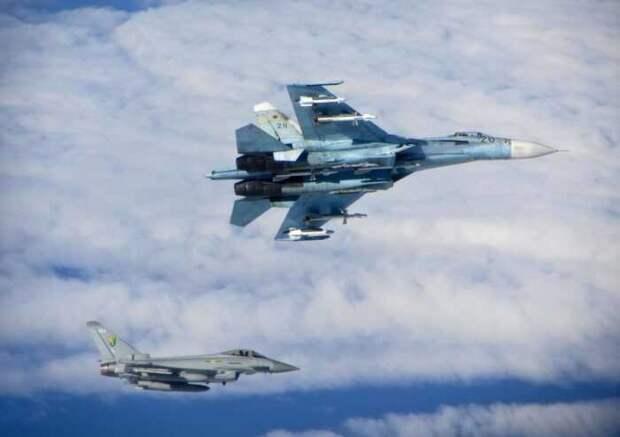 В США жалуются на безрассудные действия российских лётчиков