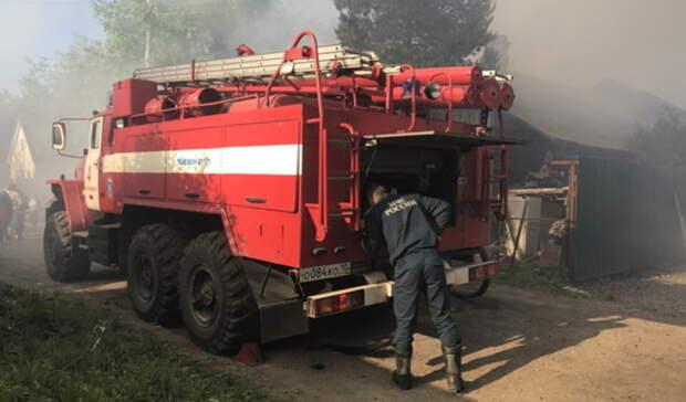 Тюменские следователи возбудили уголовное дело из-за гибели мужчины напожаре вСНТ