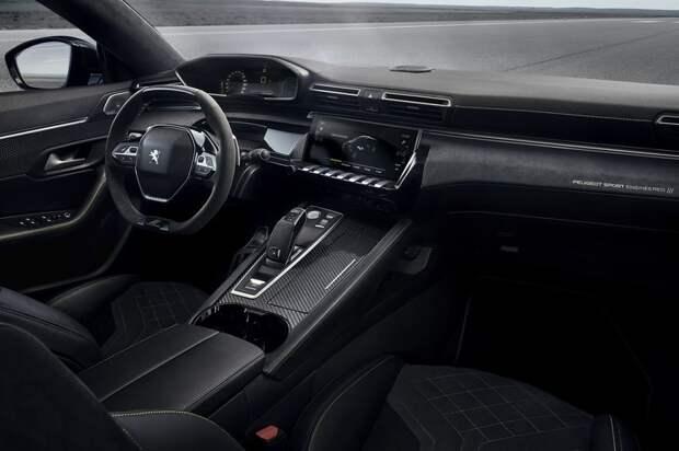 Peugeot покажет автомобиль с тремя моторами