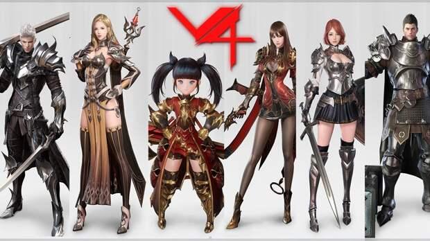 Обзор на новую мобильную MMORPG - Project V4