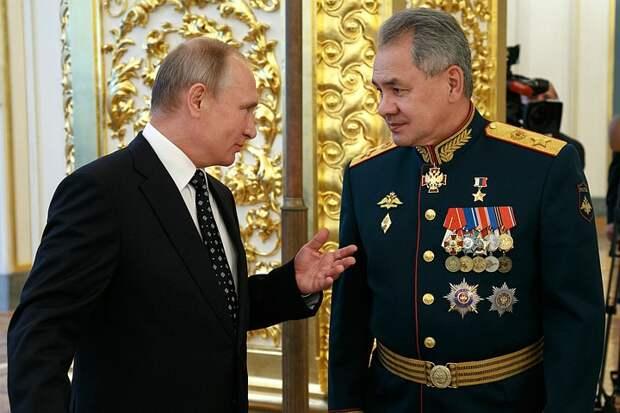 Шойгу раскрыл, за какую операцию получил Героя России