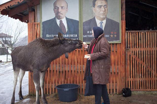 Гриша со своей *мамой* Светланой Цайко. Фото: Сергей Лескеть.