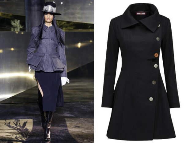 Верхняя одежда для полных осень-зима 2016-2017 Simply Be, H&M