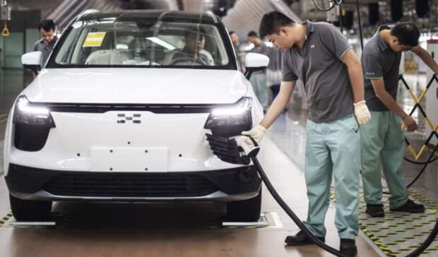 Китайцы пересаживаются вэлектрокары