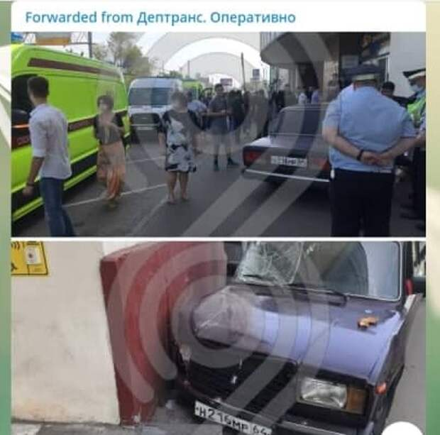 На пешеходов на Волгоградском проспекте наехал 17-летний подросток без прав